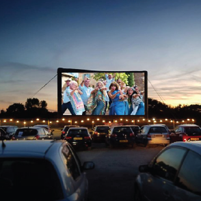 Drive-In Cinema Brought to you by McDonald's Bathurst