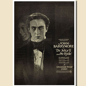 Fossil Flicks Silent Film Festival - Dr Jekyll and Mr Hyde (1920)